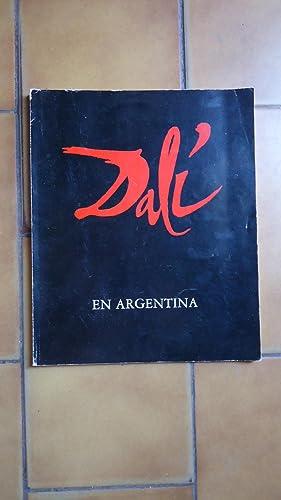 DALÍ EN LA ARGENTINA (Catálogo de la: MUSEO NACIONAL DE