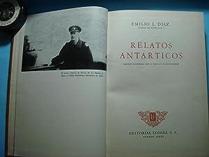 RELATOS ANTARTICOS.: DIAZ, Emilio