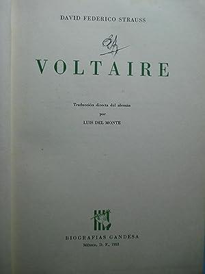 VOLTAIRE: STRAUSS, David Federico