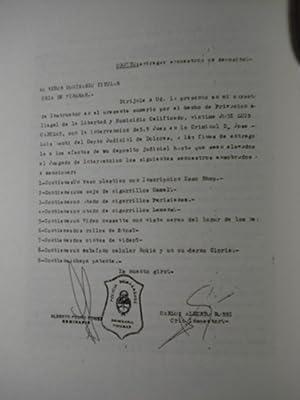 CABEZAS. CRIMEN, MAFIA Y PODER: SDRECH, Enrique O. + COLOMINAS, Norberto