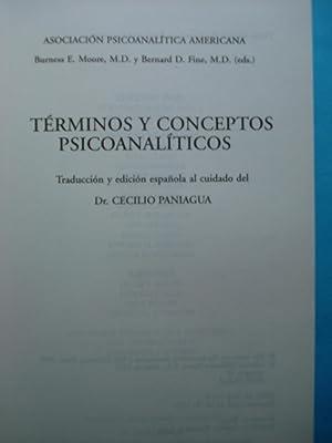 TÉRMINOS Y CONCEPTOS PSICOANALÍTICOS: MOORE, Burness E. + FINE, Bernard D.
