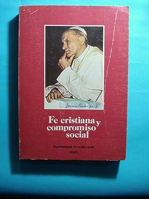 FE CRISTIANA Y COMPROMISO SOCIAL. ELEMENTOS PARA: CELAM - DEPARTAMENTO