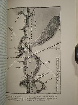 VIAJES AL ESTRECHO DE MAGALLANES 1579-1584. Recopilación de sus Relaciones sobre los Dos ...