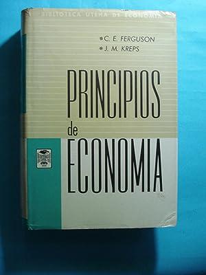 PRINCIPIOS DE ECONOMÍA: FERGUSON, C.E. +