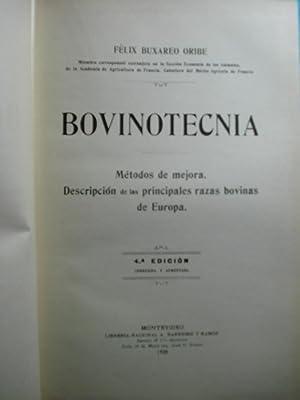 BOVINOTECNIA. MÉTODOS DE MEJORA. DESCRIPCIÓN DE LAS PRINCIPALES RAZAS BOVINAS DE ...