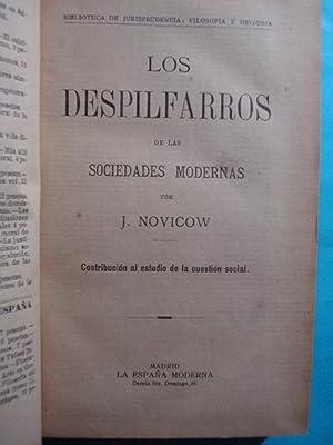 LOS DESPILFARROS DE LAS SOCIEDADES MODERNAS. CONTRIBUCIÓN AL ESTUDIO DE LA CUESTIÓN ...