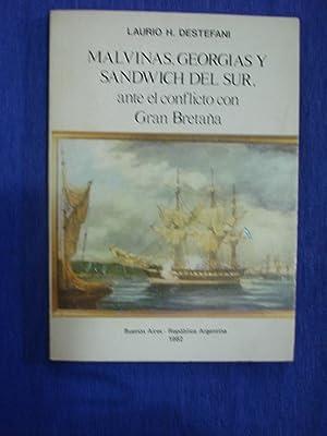 MALVINAS, GEORGIAS Y SANDWICH DEL SUR ANTE: DESTEFANI, Laurio H.