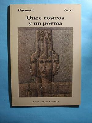 ONCE ROSTROS Y UN POEMA. Edición Trilingüe Español/Inglés/Franc...