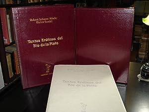 TEXTOS EROTICOS DEL RIO DE LA PLATA.: LEHMANN NITSCHE, Robert