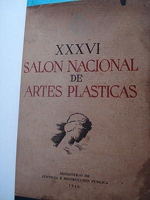 XXXVI SALÓN NACIONAL DE ARTES PLÁSTICAS: MINISTERIO DE JUSTICIA E INSTRUCCIÓN PÚBLICA