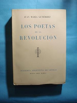 LOS POETAS DE LA REVOLUCIÓN: GUTIERREZ, José María
