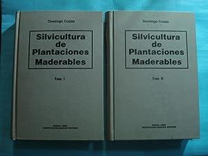 SILVICULTURA DE PLANTACIONES MADERABLES (2 TOMOS-OBRA COMPLETA): COZZO, Domingo