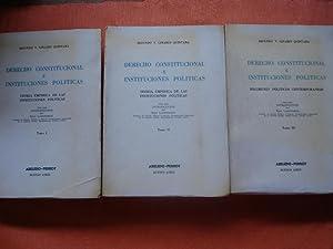 DERECHO CONSTITUCIONAL E INSTITUCIONES POLÍTICAS: LINARES QUINTANA, Segundo V.