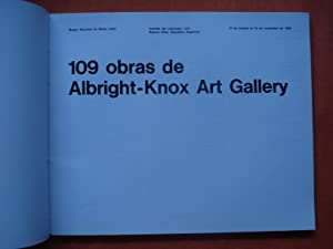 109 OBRAS DE ALBRIGHT-KNOX ART GALLERY: MUSEO NACIONAL DE BELLAS ARTES