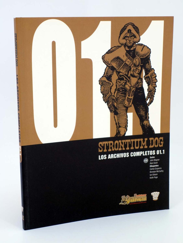 STRONTIUM DOG 01.2. LOS ARCHIVOS COMPLETOS (Grant, Wagner, Gibson, etc) Kraken, 2008 - Grant, Wagner, Gibson, etc