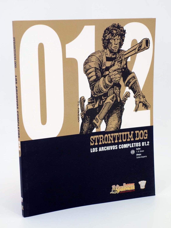 STRONTIUM DOG 01.2. LOS ARCHIVOS COMPLETOS (Grant, Wagner, Gibson, etc) Kraken, 2009 - Grant, Wagner, Gibson, etc
