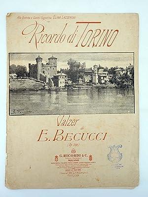 RICORDO DI TORINO VALZER (E. Becucci) G.: E. Becucci