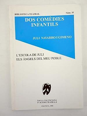 BIBLIOTECA TEATRAL 35. DOS COMEDIES INFANTILS (Juli: Juli Navarro i