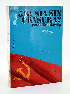 TA 35. RUSIA SIN CENSURA? LA PRENSA: Peter Reddaway