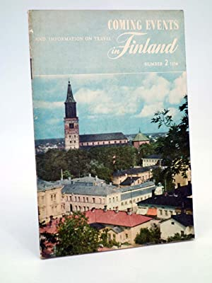 FOLLETO TURÍSTICO COMING EVENTS AND INFORMATION ON TRAVEL IN FINLAND 2 (No acreditado), 1954