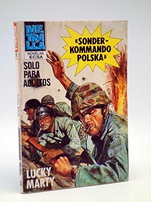 METRALLA 9. SONDERKOMMANDO POLSKA (Lucky Marty) Bolsilibros: Lucky Marty