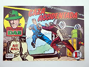 INSPECTOR DAN 50. CAZA ACCIDENTADA (VVAA) Comic MAM, 1990