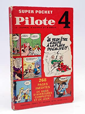 SUPER POCKET PILOTE 4. LE JOURNAL D ASTERIX ET D OBELIX (VVAA) Dargaud, 1969