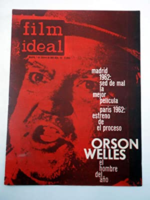 REVISTA FILM IDEAL 113. ORSON WELLES EL HOMBRE DEL AÑO (VVAA) Film Ideal, 1962