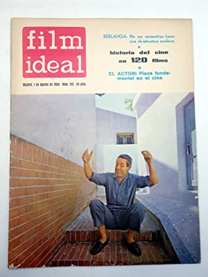 REVISTA FILM IDEAL 125. BERLANGA, HISTORIA DEL CINE EN 120 FILMS (VVAA) Film Ideal, 1962
