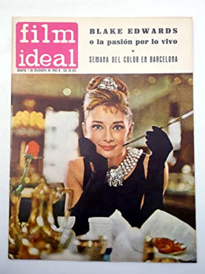 REVISTA FILM IDEAL 133. BLAKE EDWARDS, SEMANA DEL COLOR EN BARCELONA (VVAA) Film Ideal, 1962