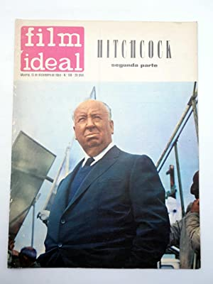 REVISTA FILM IDEAL 158. ALFRED HITCHCOCK SEGUNDA PARTE (VVAA) Film Ideal, 1964