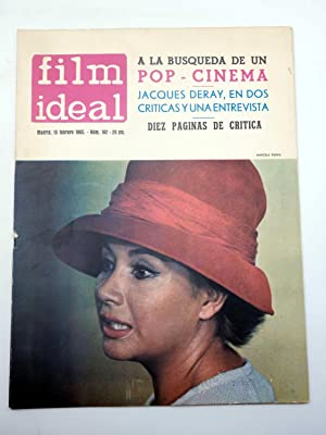 REVISTA FILM IDEAL 162. A LA BUSQUEDAD DE UN POP CINEMA, JACQUES DERAY (VVAA) Film Ideal, 1965