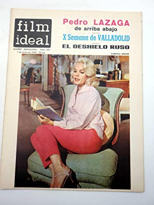REVISTA FILM IDEAL 169. PEDRO LAZAGA, X SEMANA DE VALLADOLID, CARROLL BAKER (VVAA) Film Ideal, 1965