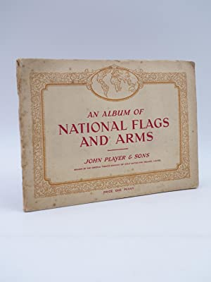 AN ALBUM OF NATIONAL FLAGS AND ARMS. ALBUM COMPLETO 50 CROMOS. John Player & Sons, 1935