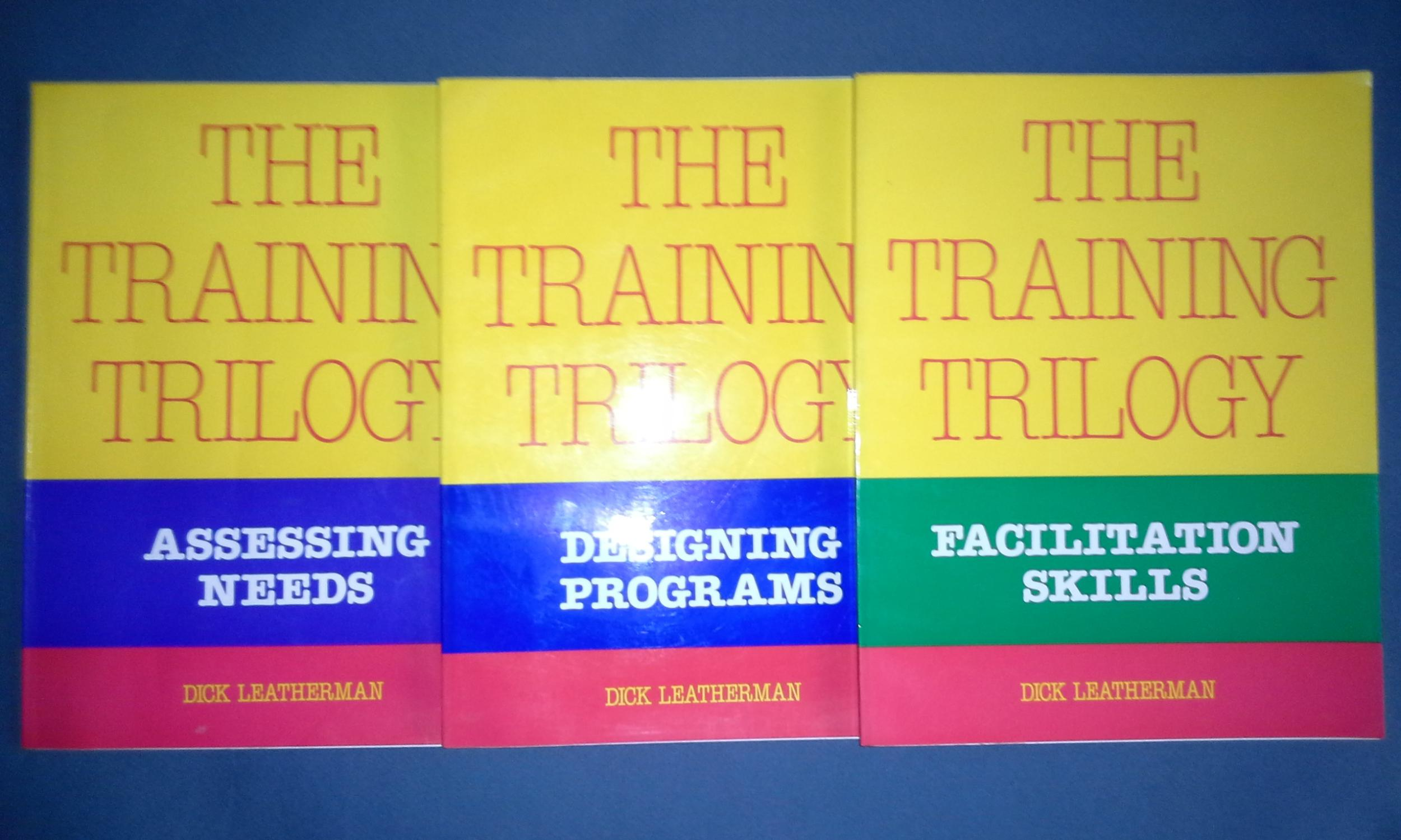 the training trilogy assessing needs designing pregrams