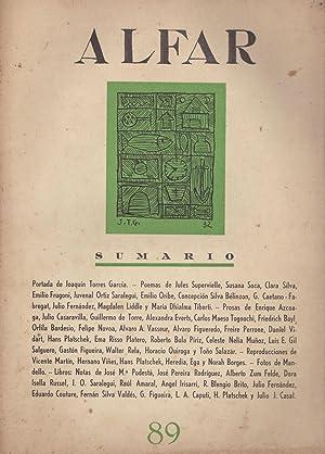 Revista Alfar N° 89 (Uruguay): Varios