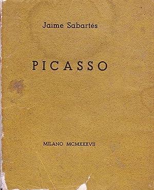 Picasso 1937 - Firmado: Jaime Sabartés