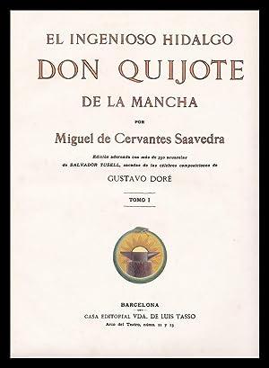 El Ingenioso Hidalgo Don Quijote de la Mancha (Dos Volúmenes): Miguel Cervantes de Saavedra