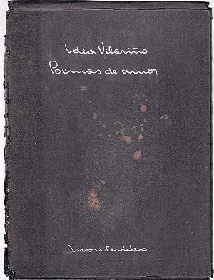 Manuscrito Poemas de Amor de Idea Vilariño (Ejemplar numerado - N° 64): Idea Vilariño
