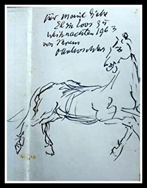 Spur Im Treibsand - First Edition - Firmado - Signed and with original drawing of the author