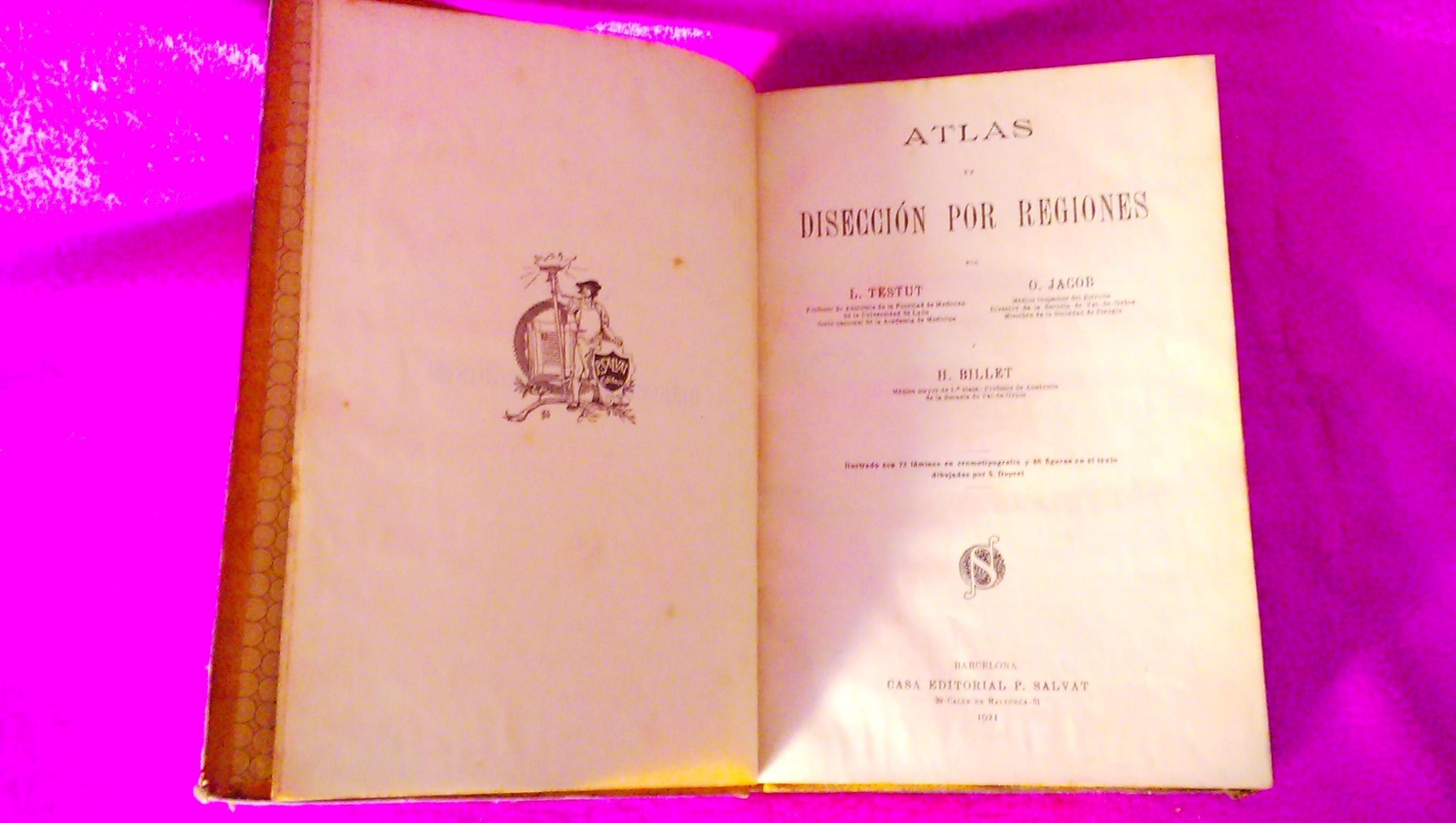 atlas de diseccion de testut
