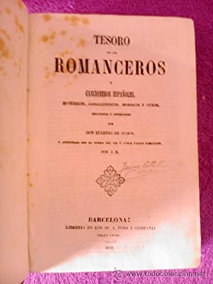 TESORO DE LOS ROMANCEROS Y CANCIONEROS ESPAÑOLES: D. Eugenio de Ochoa