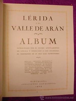 ALBUM DE LERIDA Y EL VALLE DE ARAN