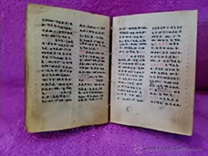 BIBLIA ETIOPE CRISTIANA COPTA SIGLO XVI