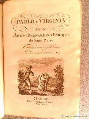PABLO Y VIRGINIA: Jacobo Bernardino Enrique de Saint Pierre