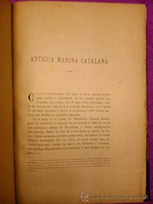 ANTIGUA MARINA CATALANA: D. Francisco de Bofarull y Sans