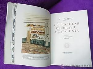ART POPULAR DECORATIU A CATALUNYA: R. Violant i Simorra, Agustí Duran i Sanpere