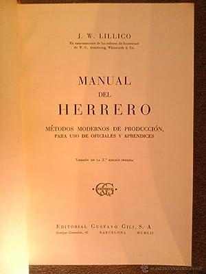 MANUAL DEL HERRERO: J. W. Lillico