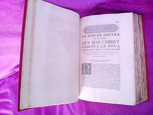 CONSTITUCIONS CATALUNYA, CONSTITVTIONS I ALTRES DRETS DE CATHALVNYA 1704 (FACSIMIL 1909): Col.legi ...