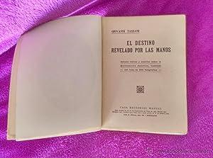 EL DESTINO REVELADO POR LAS MANOS,: G. Tassani
